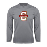 Syntrel Performance Steel Longsleeve Shirt-Official Logo - C Charleston