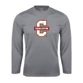 Performance Steel Longsleeve Shirt-Official Logo - C Charleston