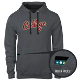 Contemporary Sofspun Charcoal Heather Hoodie-The College Script