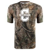 Realtree Camo T Shirt-Official Logo - C Charleston