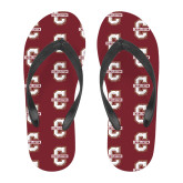Full Color Flip Flops-Official Logo - C Charleston