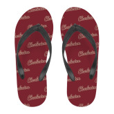 Full Color Flip Flops-Charleston Script