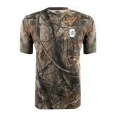 Realtree Camo T Shirt-Official Logo - C Charleston Tone