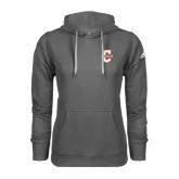 Adidas Climawarm Charcoal Team Issue Hoodie-Official Logo - C Charleston