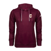 Adidas Climawarm Maroon Team Issue Hoodie-Official Logo - C Charleston