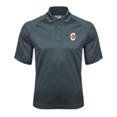 Charcoal Dri Mesh Pro Polo-Official Logo - C Charleston