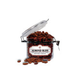 Almond Bliss Small Round Canister-Official Logo - C Charleston