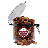 Deluxe Nut Medley Round Canister-Official Logo - C Charleston