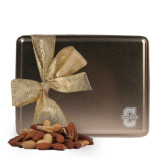 Deluxe Nut Medley Gold Large Tin-Official Logo - C Charleston Engraved