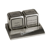 Icon Action Dice-Charleston Script Engraved