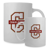 Full Color White Mug 15oz-Official Logo - C Charleston