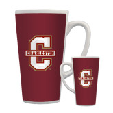 Full Color Latte Mug 17oz-Official Logo - C Charleston