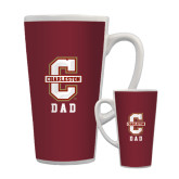 Full Color Latte Mug 17oz-Dad