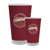 Full Color Glass 17oz-CAA Mens Basketball Champions