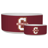 Ceramic Dog Bowl-Official Logo - C Charleston