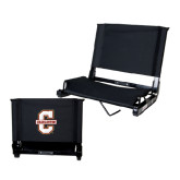 Stadium Chair Black-Official Logo - C Charleston
