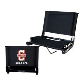Stadium Chair Black-Grandpa
