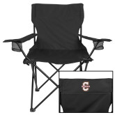 Deluxe Black Captains Chair-Official Logo - C Charleston