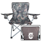 Hunt Valley Camo Captains Chair-Official Logo - C Charleston