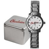 Mens Stainless Steel Fashion Watch-Charleston Script