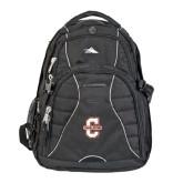 High Sierra Swerve Compu Backpack-Official Logo - C Charleston