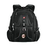 Wenger Swiss Army Mega Black Compu Backpack-Official Logo - C Charleston