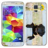 Galaxy S5 Skin-Dog on Fence