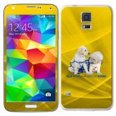 Galaxy S5 Skin-Help is a Four Legged Word
