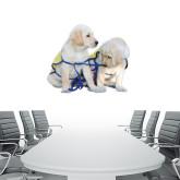 2.5 ft x 3 ft Fan WallSkinz-Two Puppies