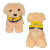 Golden Plush Pup w/ Cape-