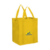 Non Woven Gold Grocery Tote-