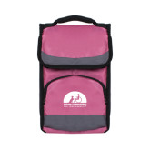 Passion Pink Flap Lunch Cooler-