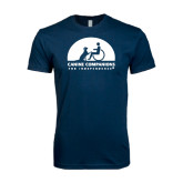 Next Level SoftStyle Navy T Shirt-