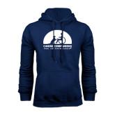 Navy Fleece Hoodie-