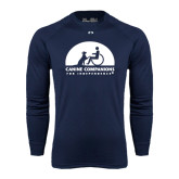 Under Armour Navy Long Sleeve Tech Tee-