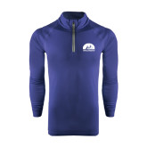 Under Armour Navy Tech 1/4 Zip Performance Shirt-