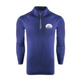 Under Armour Navy Tech 1/4 Zip Performance Shirt-