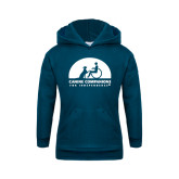Youth Navy Fleece Hoodie-