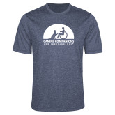 Performance Navy Heather Contender Tee-