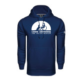 Under Armour Navy Performance Sweats Team Hoodie-