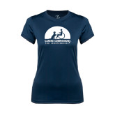 Ladies Syntrel Performance Navy Tee-