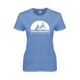 Ladies Arctic Blue T Shirt-