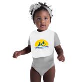 White Baby Bib-