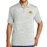 Silver Electric Heather Polo-