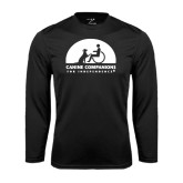 Performance Black Longsleeve Shirt-