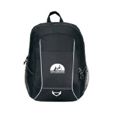 Atlas Black Computer Backpack-