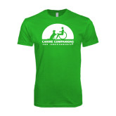 Next Level SoftStyle Kelly Green T Shirt-