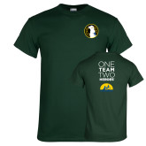 Dark Green T Shirt-Veterans Initiative