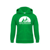 Youth Kelly Green Fleece Hoodie-