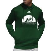 Adidas Dark Green Team Issue Hoodie-